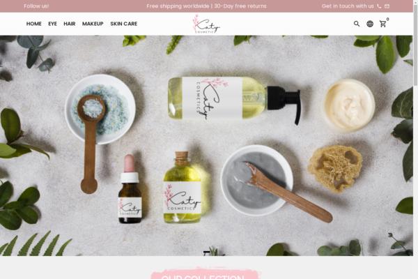 katycosmetics.com - PREMIUM AUTOMATED Beauty, skin care Cosmetic Brand Store $3800 / 30 days Revenue