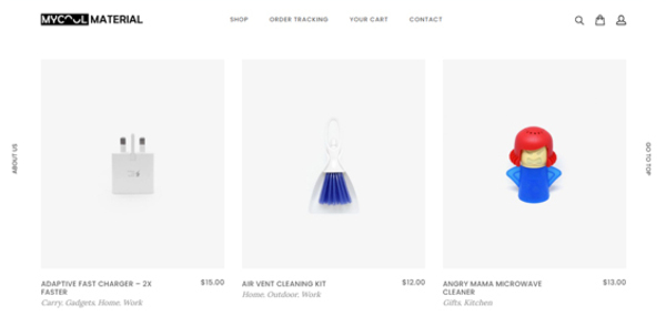 mycoolmaterial.com - MyCoolMaterial.com Dropshipping Store with Exceptional Growth Potential