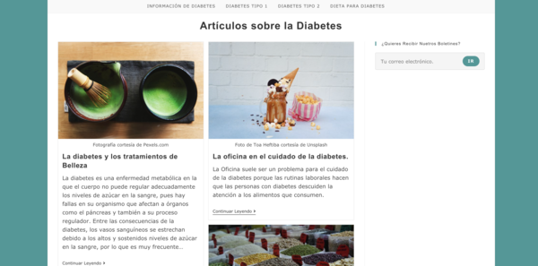 diabetes-salud.com - Advertising / Health and Beauty