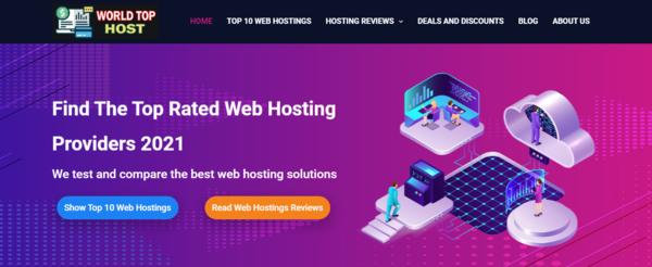 WorldTopHost.com - Automated Web Hosting Affiliate Website Earn Earn Up To 200$/lead,