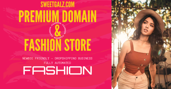 sweetgalz.com - Fashion Dropshipping Business with Premium Domain Name - Shopify Starter Store