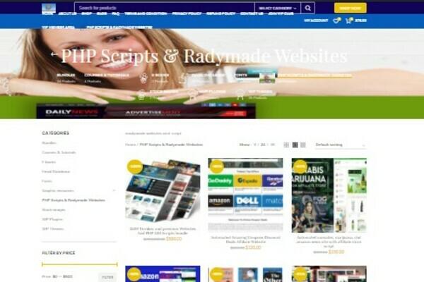 premiumwebsitesbiz.com -  preloaded Ready Made Websites & digital products selling website