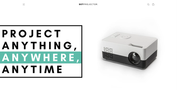setprojector - Shopify Branded One Product Store. ($1,439 Domain) Design Built By A Team Of Professional Web Designers. Everything Is Done For You, The Store Is Launch Ready.