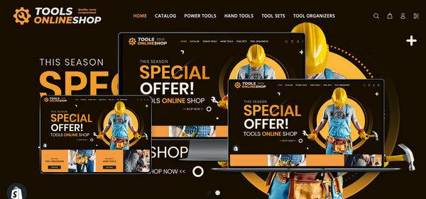 ToolsOnlineShop.com - PREMIUM SHOPIFY TOOLS SUPPLIES DROPSHIP. Fully Automated. Profitable