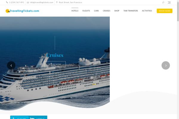 TravellingTickets.com - Automated Travel Site, Flights/Hotel/Car/Cruise Engine,Make $1-4 p/Lead