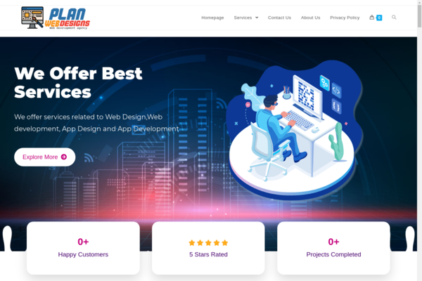 PlanWebDesigns.com - High Quality Web Design Agency Reseller Business-100%Fully Outsourced,Business !