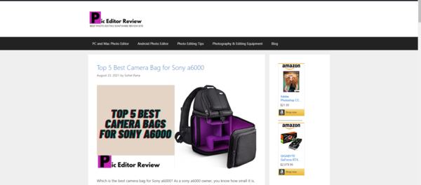 piceditorreview.com - 100% Passive Earning Google AdSense & Amazon Affiliate Marketing Blog. Monthly This Blog is Giving Around $40usd.