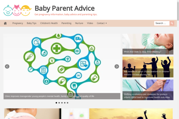 BabyParentAdvice.com - Fully Automated Baby Parenting Website. Get 5 Automated Websites worth over $900