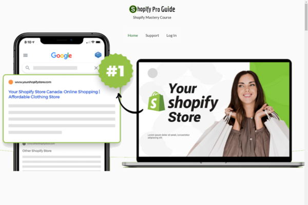 ShopifyProGuide.com - Shopify Mastery Course| With 40 Premium HD Videos | Free Video Hosting