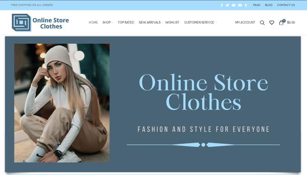 ONLINE STORE CLOTHES - Automated Store, SEO Backlinks $4,500/Mo Potential, 10-years OLD Domain  Google Indexed Ready - NO RESERVE!