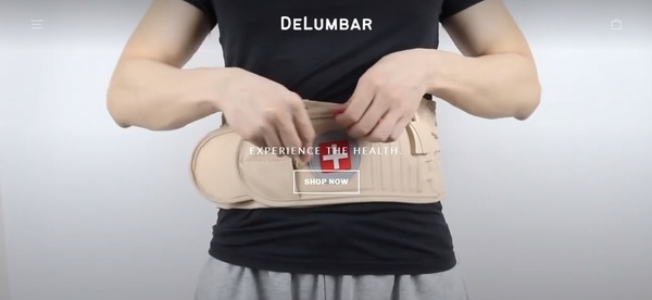 delumbar.com - Delumbar.com | Branded One Product Shopify Store | UPS Shipping