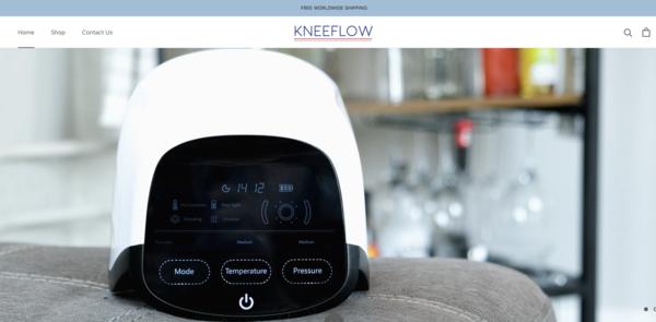 kneeflow.com - e-Commerce / Health and Beauty
