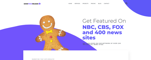 GoodPressRelease.com - Hot Outsourced Press Release Distribution Company Website. Newbie Friendly Business. Fast-growing industry.