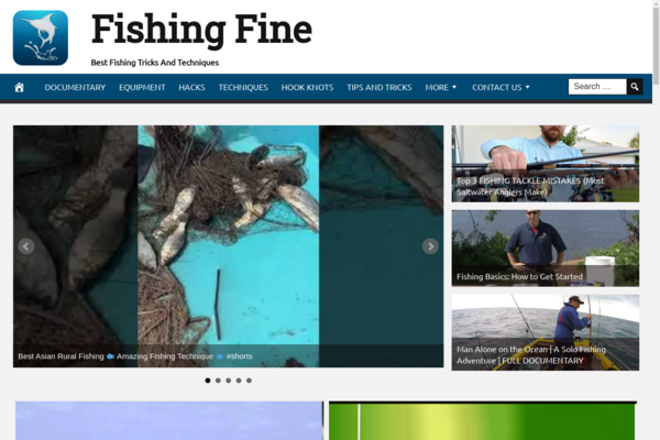 FishingFine.com - Fully Automated Fishing Website. Get 5 Automated Websites worth over $900