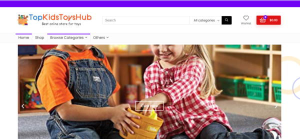topkidstoyshub.com - Best Amazon Kids Store Business, No Exp Required - Grab this site, before someone else does - Amazing BIN Bonuses to boost online - Newbies Friendly - LOW BIN