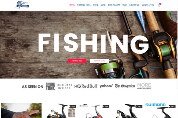 ViaFishing.com - PREMIUM FISHING STORE |Beautiful Design |Dropshipping Business|Maintenance Free