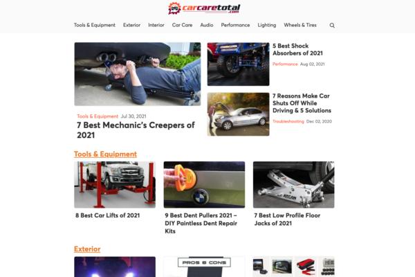 carcaretotal.com - Advertising / Automotive