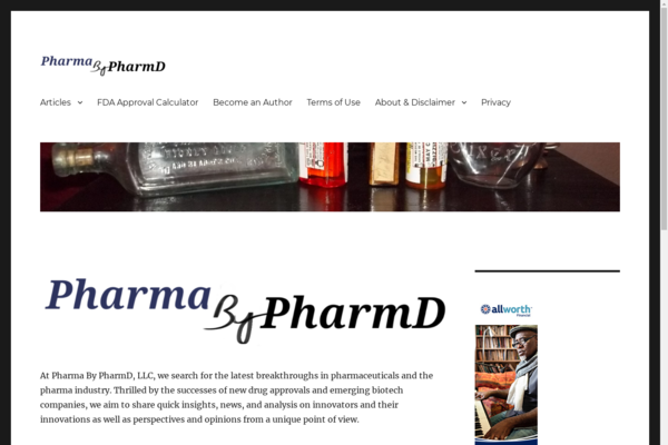 pharmabypharmd.com - Pharma and biotech resource for investors and professionals