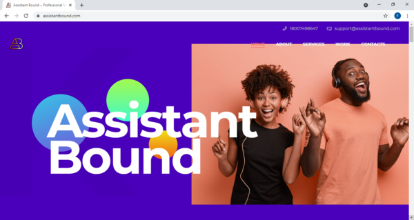 assistantbound.com - Growing Personal Assistant Business With Immense Potential. Over $14K In Revenue