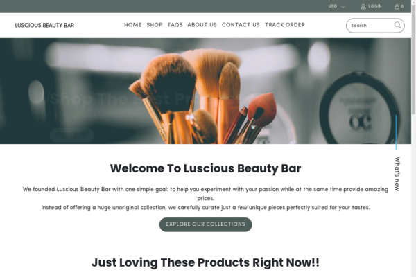 lusciousbeautybar.com - Perfect Gift Giving Business   100% Unique Product   Business Plan Included