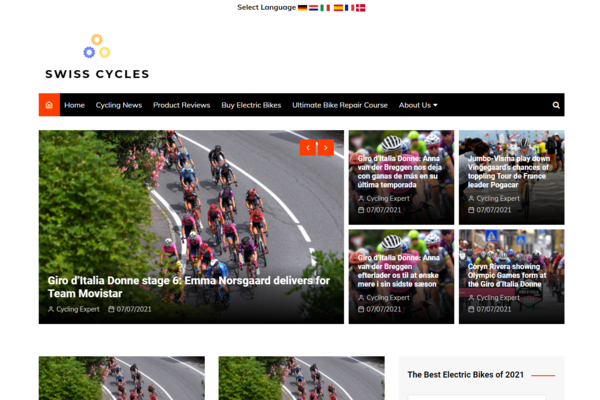 swisscycles.com - Advertising / Sports and Outdoor