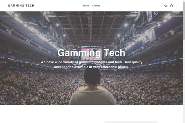 gammingtech.com - Gammingtech.com - An online store with a lot of potential.