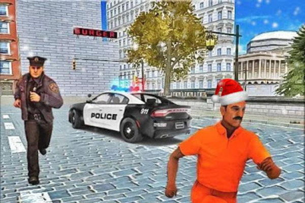 Drive Police Car Gangsters Chase : Free Games - App with 4.5 Million downloads and 25K active devices
