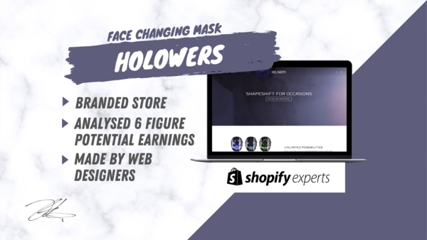 Holowers™ - Start Your Online Business Today With Our Branded & Automated One Product Store Made By A Team Of Dropshippers & Web designers.