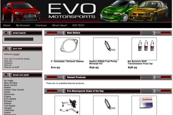 evomoto.com - e-Commerce / Automotive