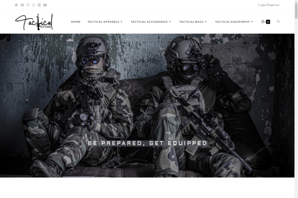 dainkotactical.store - DainkoTactical.store Automated WooCommerce Dropshipping Store Tactical Products.