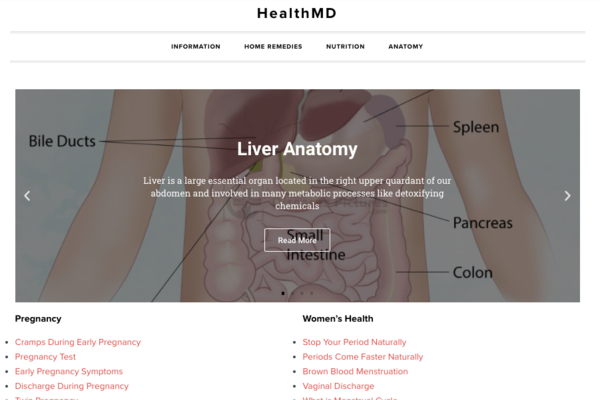 healthmd.net - Advertising / Health and Beauty