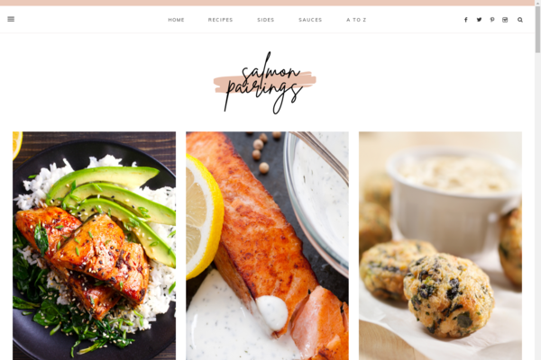salmonpairings.com - A Ready-made Food & Drink Blog with HUGE Affiliate and Display Ads POTENTIAL!
