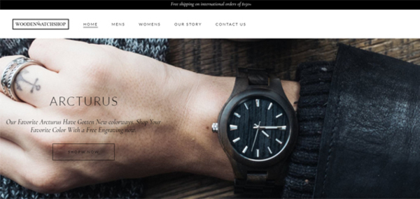 woodenwatchshop.com - WoodenWatchSop.com Wooden Watches Store with Exceptional Growth Potential
