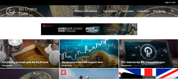 AllCryptoCoins.info - Fully Automated Content Website about different types of Cryptocurrencies!