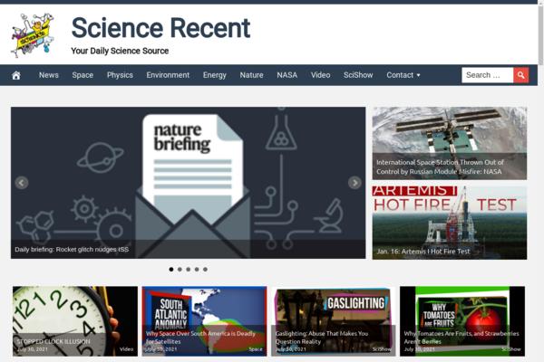 ScienceRecent.com - Automated Hot Niche Science Site, Newbie Friendly! BIN BONUS Hosting Included