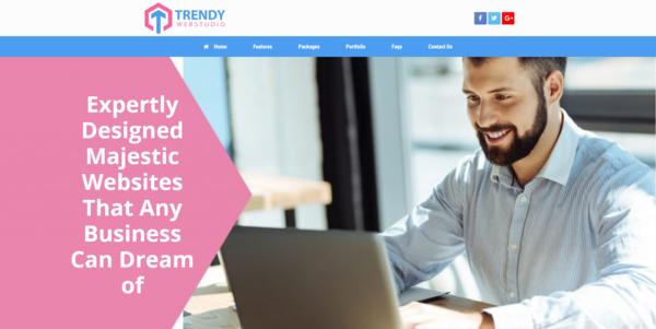 trendywebstudio.com - PROFITABLE WEB DESIGN BIZ - Made $1730 in 3 Months. Recession Proof Biz