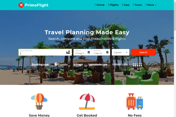 PrimoFlight.com - Automated Travel Website, Earn Up To $10k/Mon On Flights, Hotels & Trip bookings