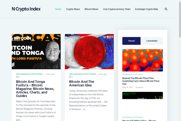 newcryptoindex.com - Live Fully Cryptocurrencies News site.New articles are being added automatically