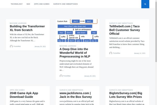pocketmac.net - High DA PA Blog With 100k+ Monthly Organic Traffic Adsense Ready