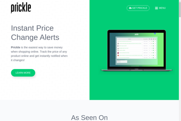prickle.app - Price Checking Chrome Extension App/SaaS (Ready For Monetization)