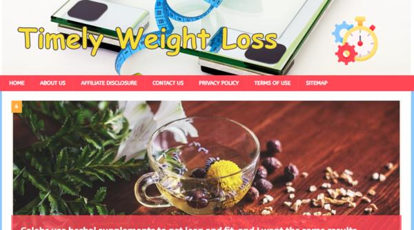 TimelyWeightLoss.Com - Top Quality Weight Loss Website + 100% Unique SEO Articles + 2 Bonus Unique Content Websites + Buy 1 Website Get 3 Website OFFER