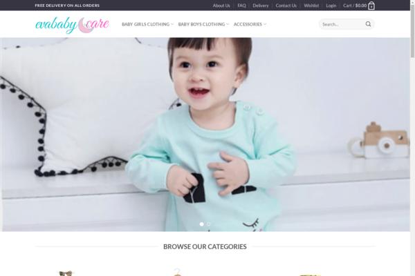 evababycare.com - Automated baby clothes store $536 startup Revenue [$4000/mo Potential no reserve