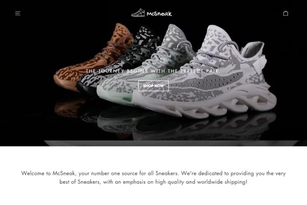 mcsneak.com - McSneak.com | Branded Shopify Sneakers Store | BIG POTENTIAL