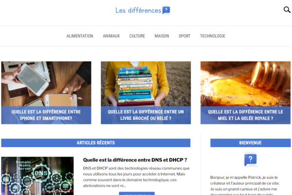 les-differences.com - Advertising / General Knowledge