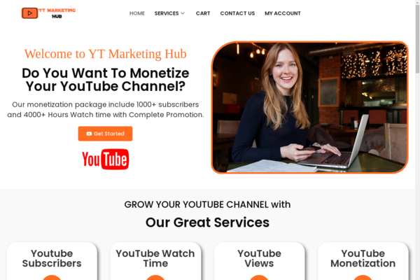 YtMarketingHub.com - High Quality Youtube Marketing Reseller Business-100%Fully Outsourced,Business !