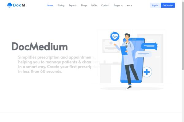 Docmedium.com - Docmedium - SaaS Doctors Chamber, Prescription & Appointment Software