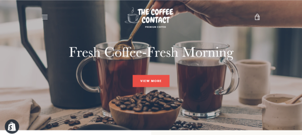 TheCoffeeContact.com - TheCoffeeContact.com - Start Your Own Unique Coffee Brand! No Reserve Price!!
