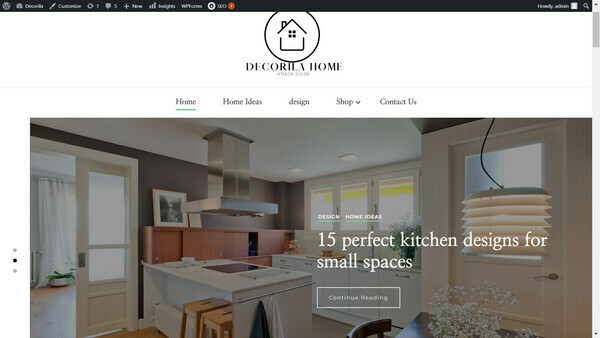 Decorilahome.com - A new hot niche home decor site with Premium Theme|Perfect start for beginner and advance promo and earning