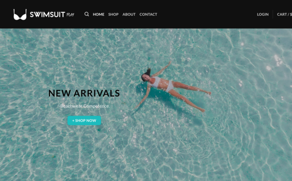 SwimsuitPlay.com - SwimsuitPlay.com - Automated Dropshipping Business - No Reserve - +$1000 Worth