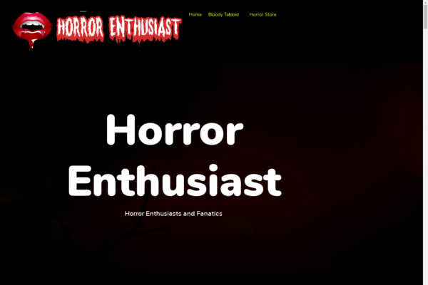 horrorenthusiast.com - Established Horror Movie Fan Site